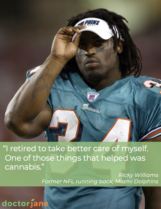 Doctor Jane Ricky Williams