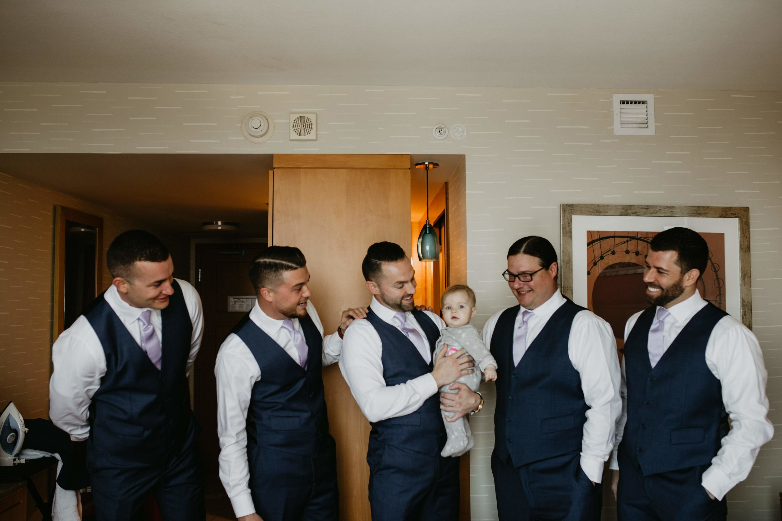 Jimmy & Daryl's daughter, Eastyn, definitely stole the show throughout the wedding day!