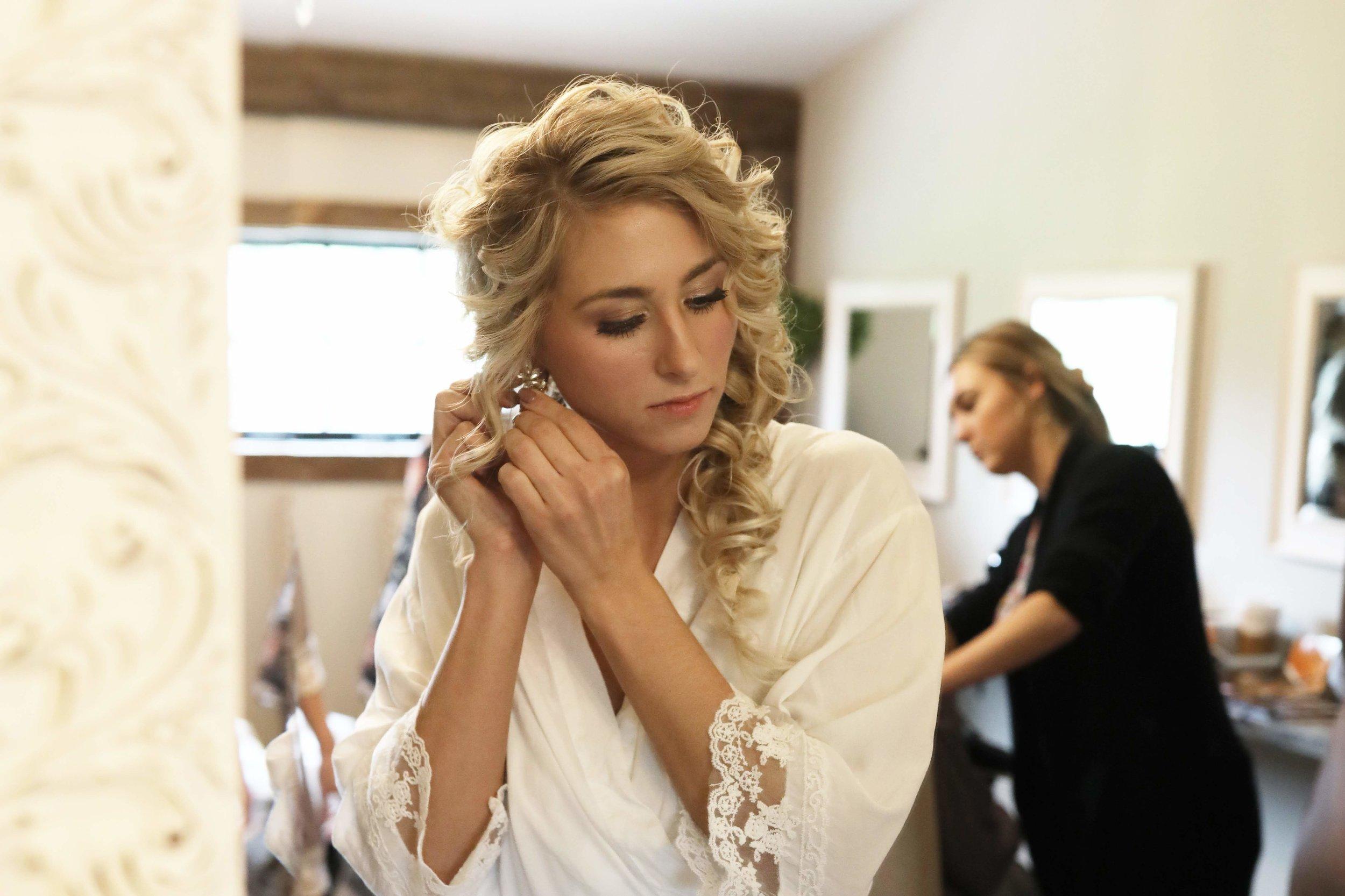 The beautiful bride, Stephanie!