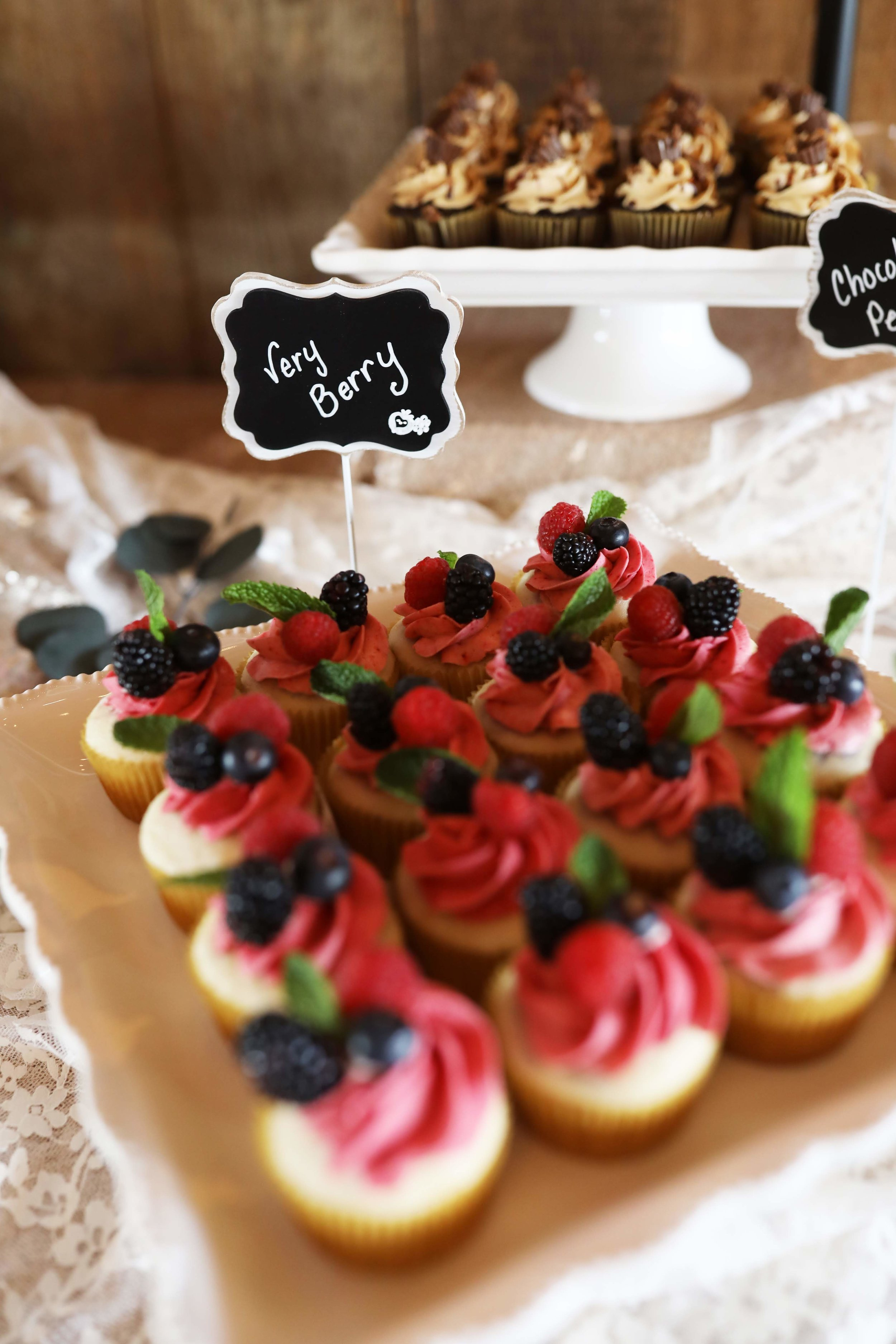 These cupcakes definitely tasted as good as they looked and were a crowd favorite!