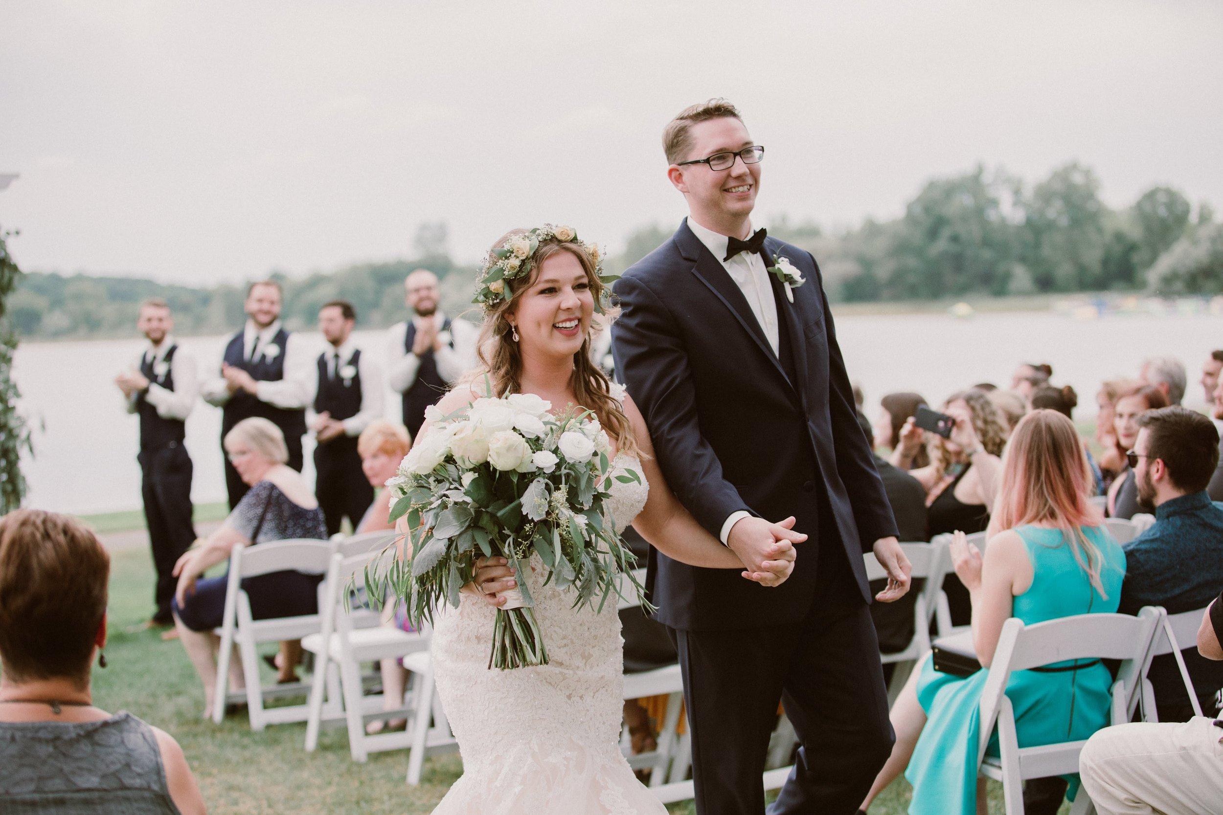 The newlyweds- Marah & Joel!