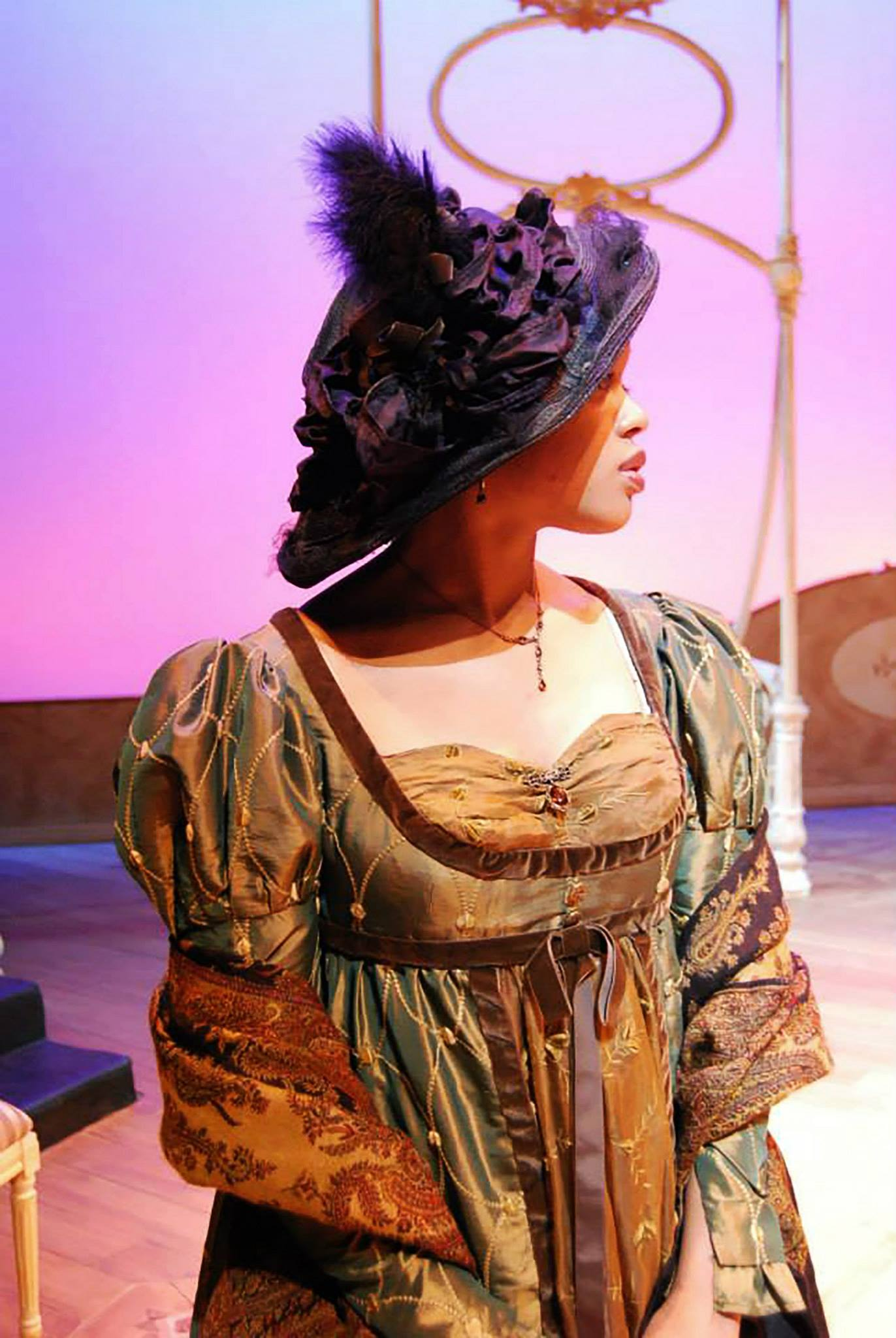 Ciara McMillian as LADY CATHERINE.