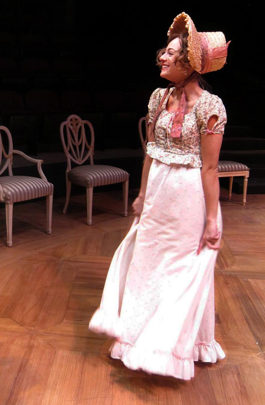 Ariane Belcher as LYDIA BENNET.
