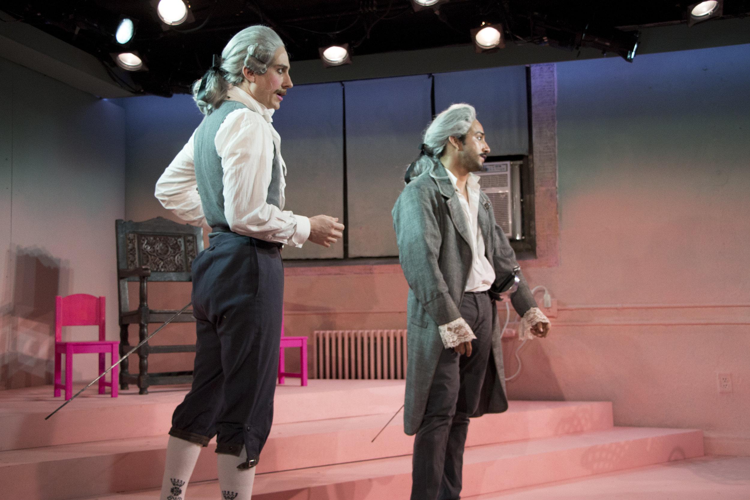 Stephen Cefalu as EDGAR, Jake Lozano as EDMUND