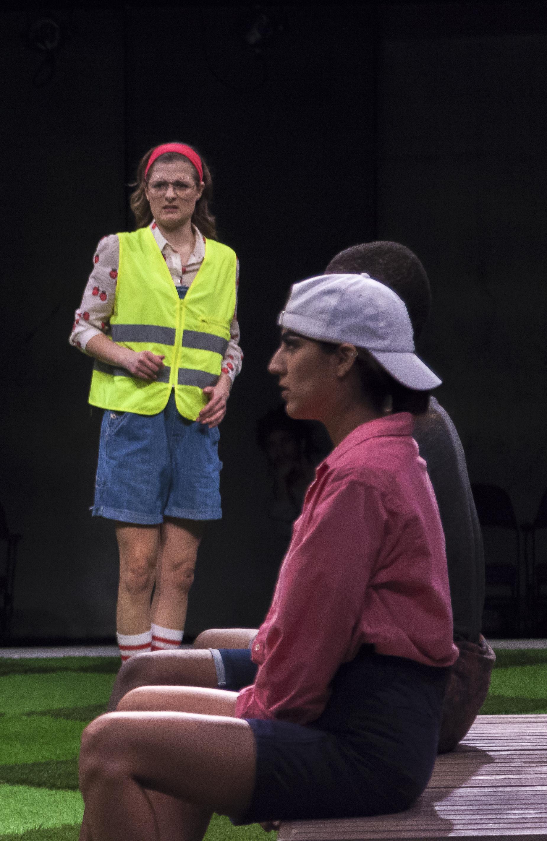 Louisa Jacobson as VERGES, Sohina Sidhu as CONRADE