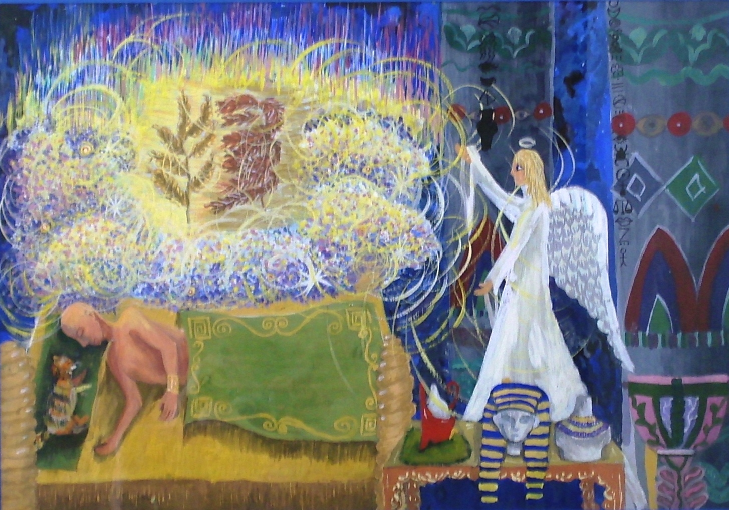 """Pharoah's Dream"" by Maria Nikulina, 13, Samara, Russia"