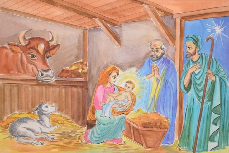 """Christmas"" by Yevgeniva Sitnikov, 13, Burukshan Village, Russia"