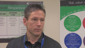 Troy Neiszner is the manager of the addiction treatment program in Regina. (CBC)