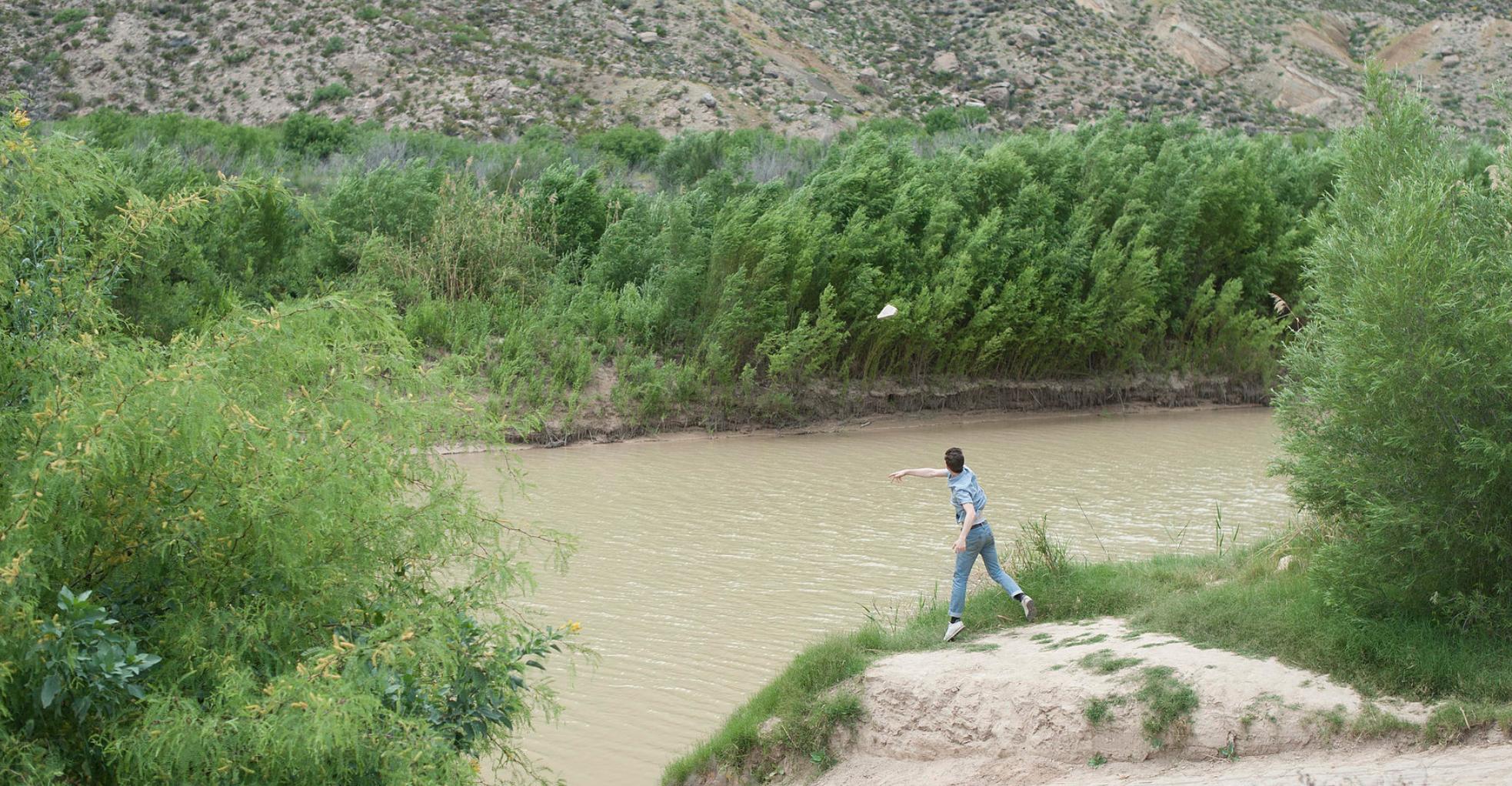 Antonin Gerson,  Territory reactions : Across the rio grande , 2015, Texas