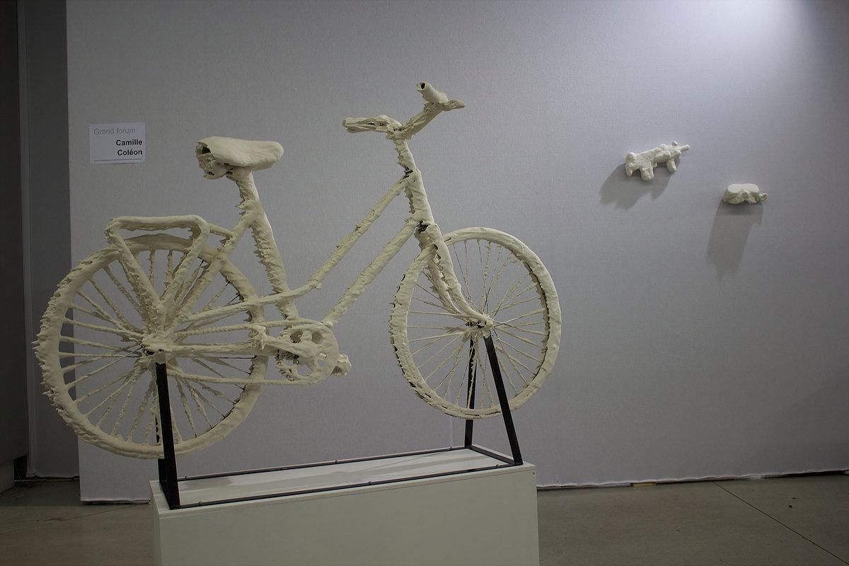 Camille Coléon, Sédiments - Hypothèse de l'objet, le vélo 2017