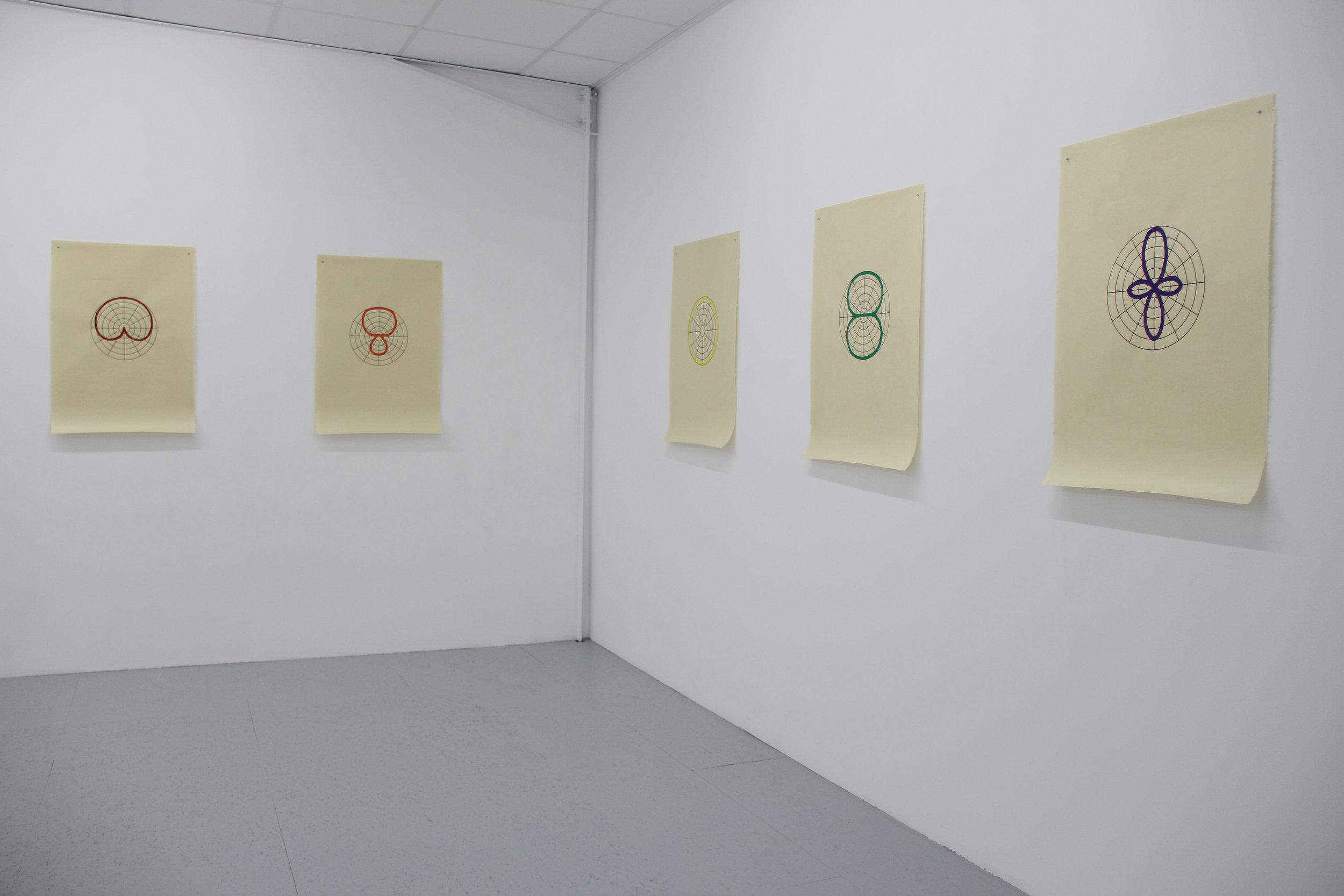 Antonin Gerson , Les Formes audibles , Galerie Marchepied, 2018