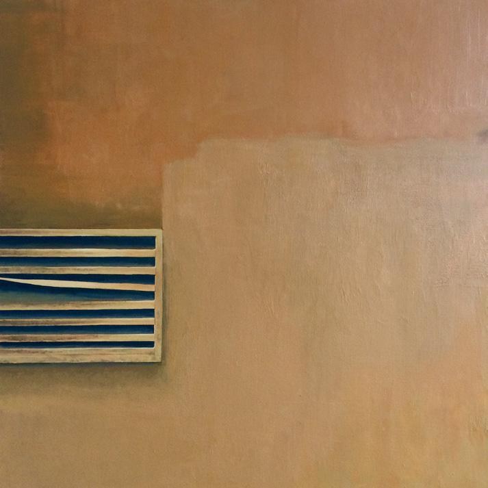 Martin Boissard , 80 cm2,   2019,  acrylique sur toile, 80 x 80 cm