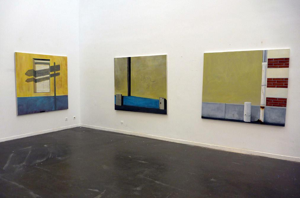 Martin Boissard,  Vue d'exposition à l'École supérieure des beaux-arts du Mans, 2013