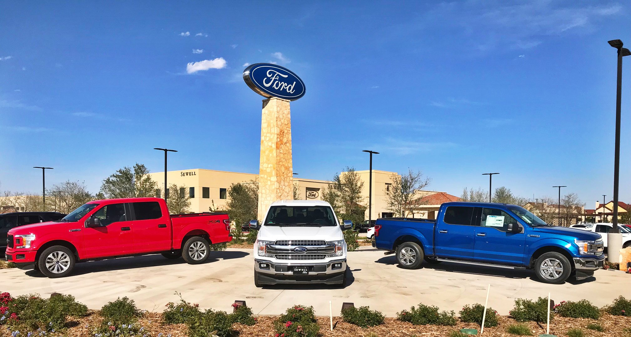 Sewell Ford Odessa >> The Companies Join Sewell