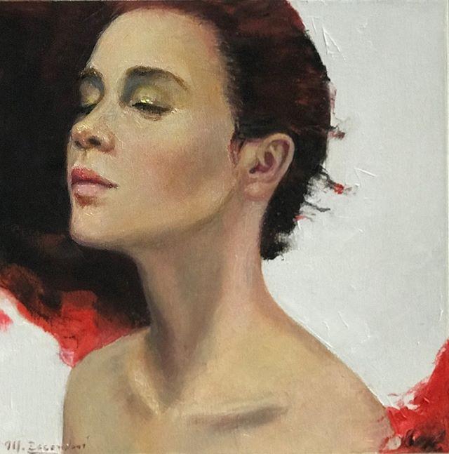 """""""Alas para soñar ' . . . . #art #contemporaryart #uruguay #oilpainting #retratocontemporaneo #artgallery #arte #portrait #artgallery"""
