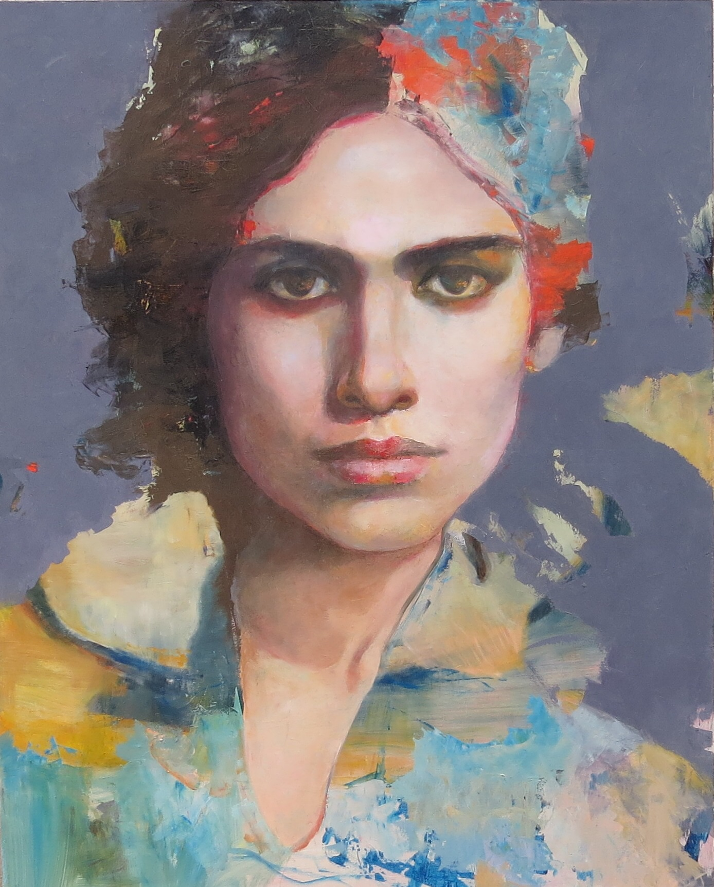 """Carmen"" oil on canvas 1.50m x 1.20m"