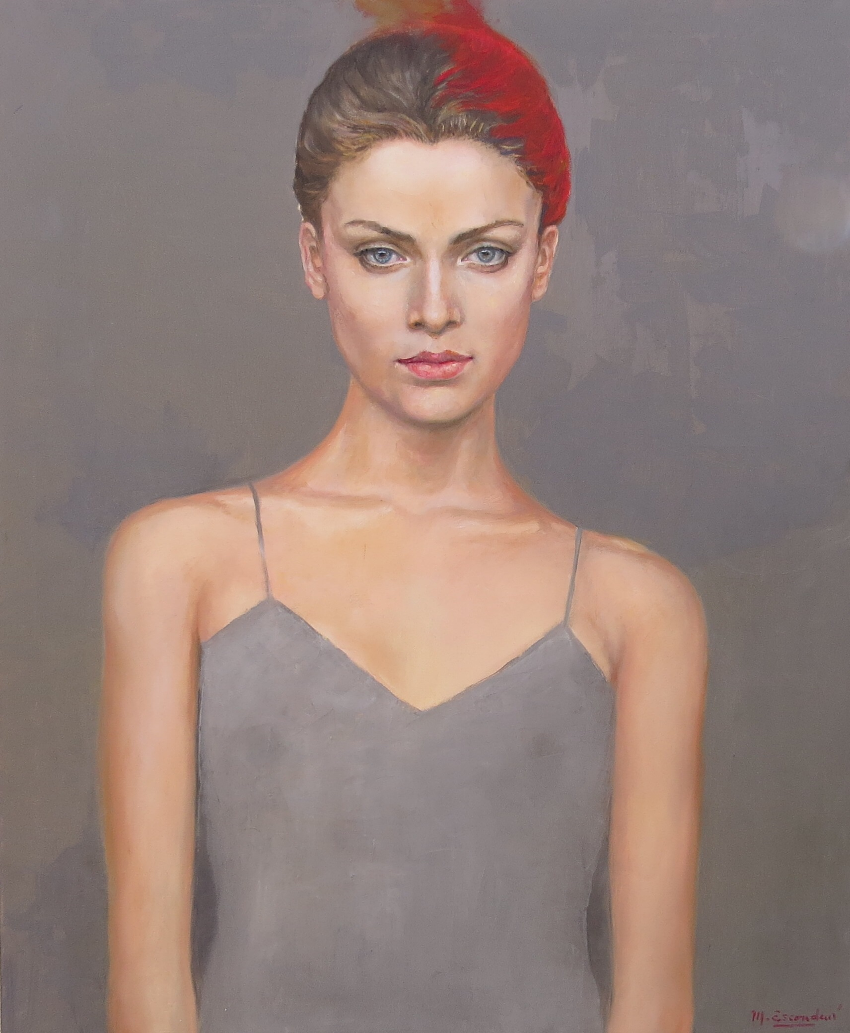 """Luisa"" oil on canvas 1.50m x 1.20m"