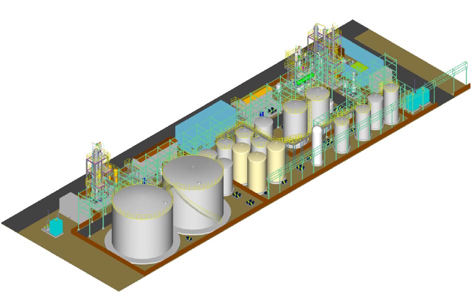 BurrowX Methanol Production Plant Design