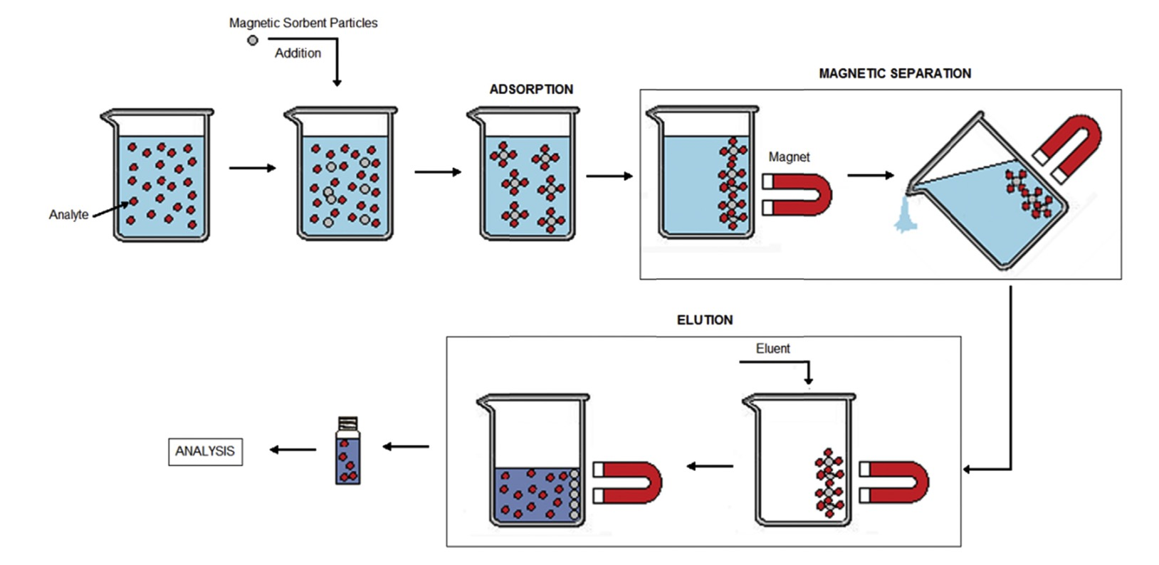 Water treatment research using Magnetic Carbon Nanotubes.
