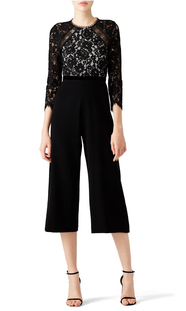 Black Ophelia Jumpsuit