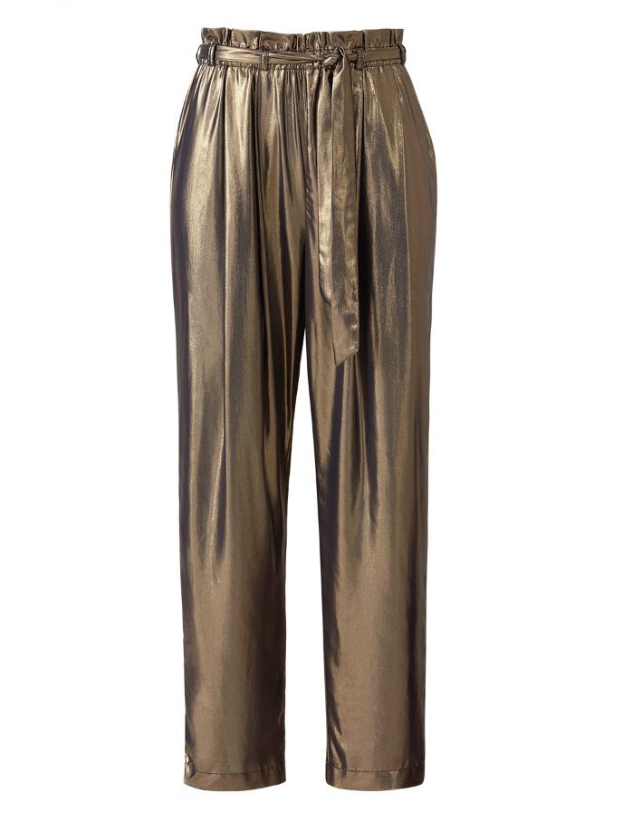 Gold Harem Pant