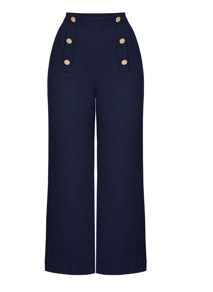 Navy Sailor Pants