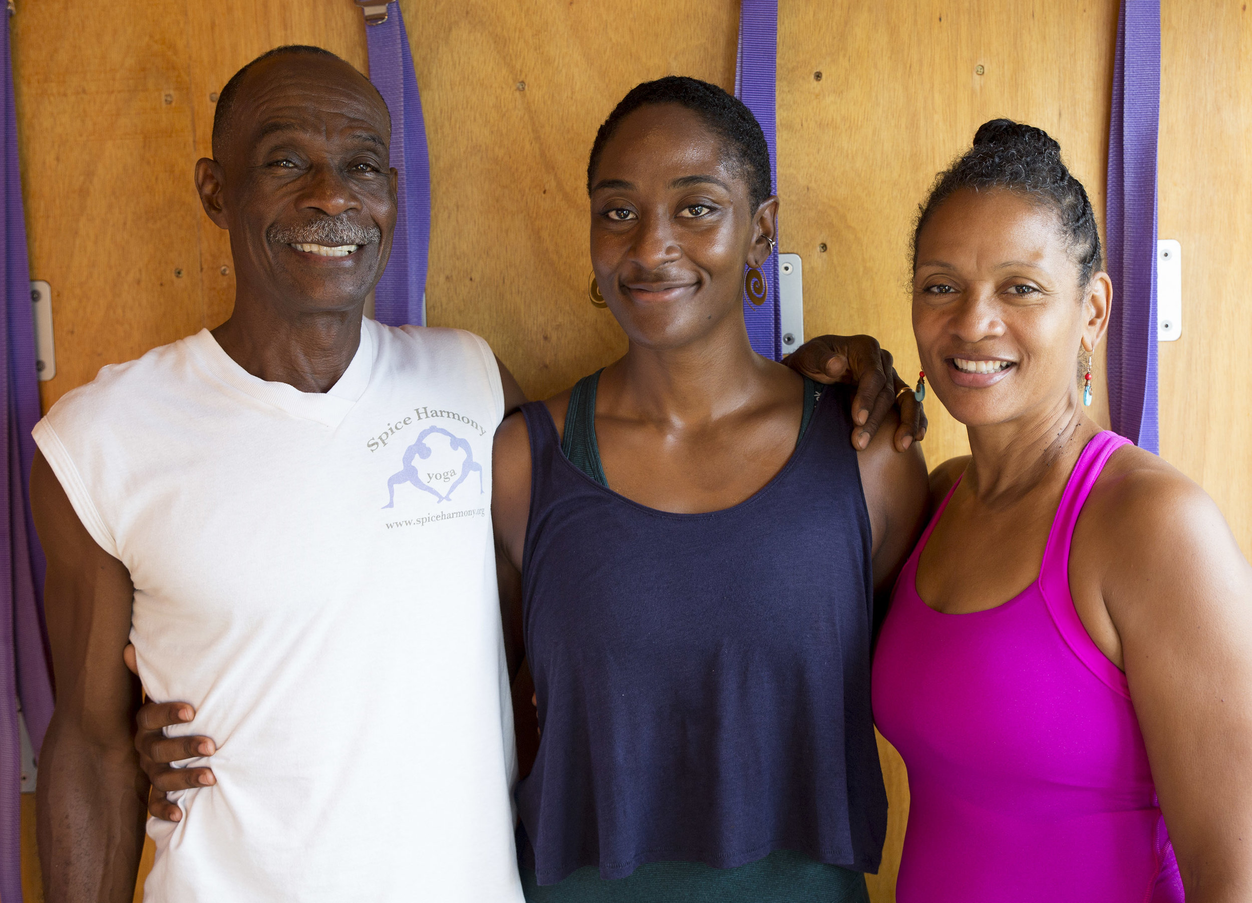 Ferron, Malaika and Kecia - The family behind Spice Harmony Yoga