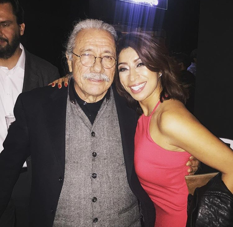 Opening night of Zoot Suit w/Edward James Olmos