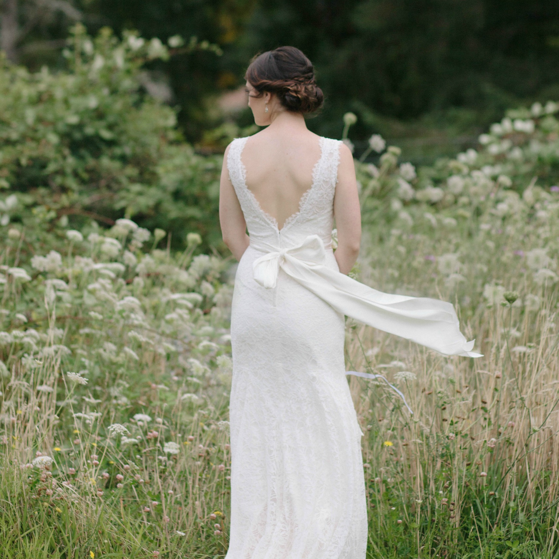 I had an absolutely wonderful dress shopping experience at The White Peony. From the very first phone call to book my appointment, every step of the process was so simple. The boutique not only has an incredible collection of gowns but also the most stunning accessories. I would not hesitate in recommending! ~ Kate