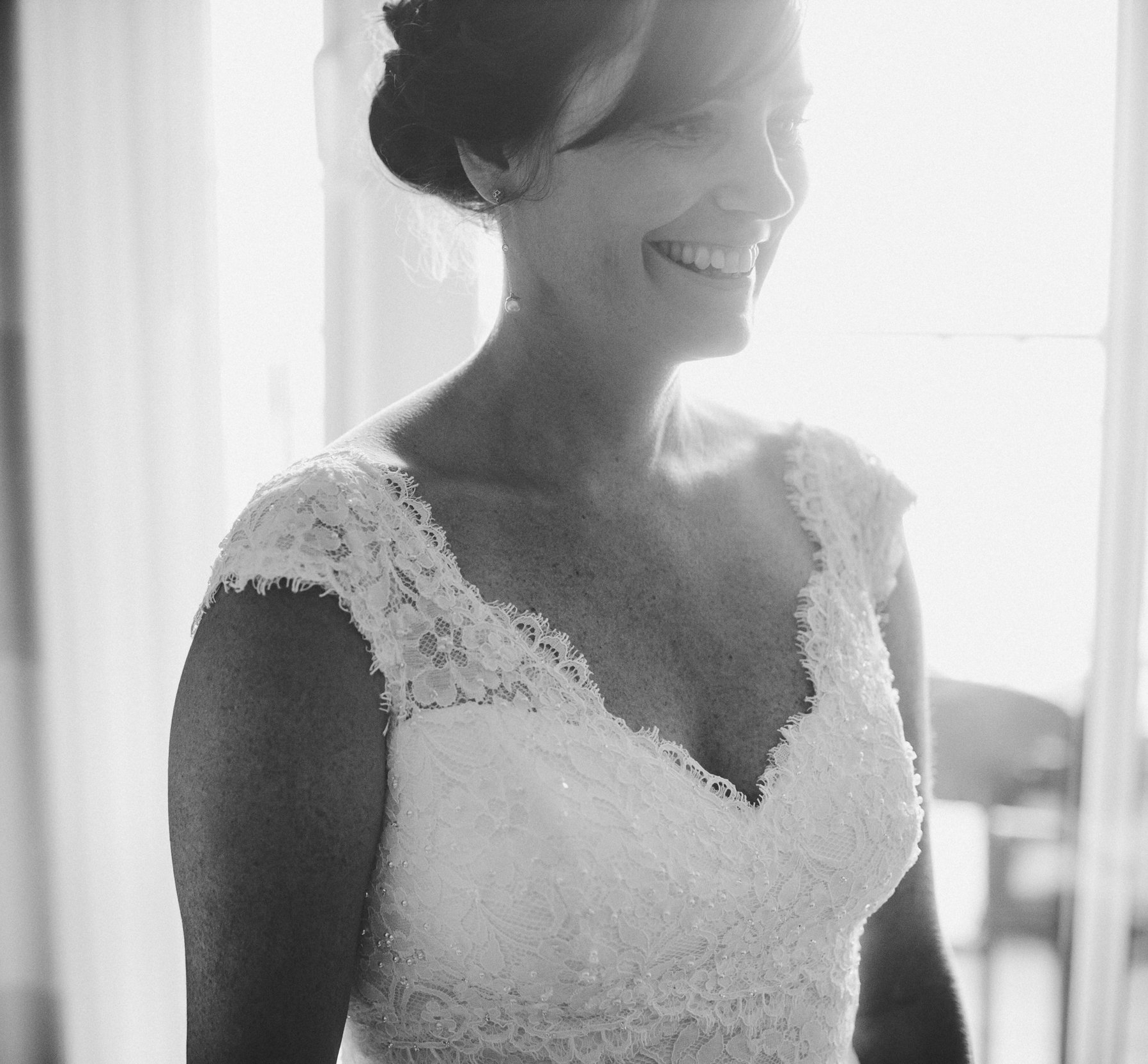 Every aspect of buying my wedding dress at The White Peony exceeded my expectations.Trish offers a personal touch that is rarely found in the retail world, which makes for buying a wedding dress a truly magical experience. ~ Joanna