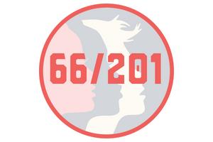 66 women reps in the mn legislature. 201 seats total