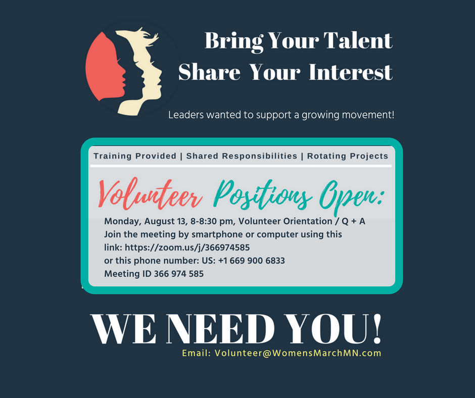 Volunteer Orientaton - Monday, August 13, 8-8:30 pm.Join the meeting by smartphone or computer:https://zoom.us/j/366974585Join the meeting by phone: US: +1 669 900 6833Meeting ID 366 974 585