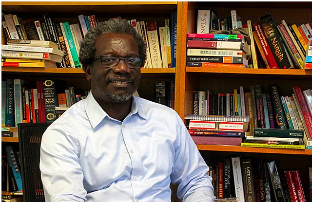 Professor Mzenga Wanyama. Photo Credit: Ibrahim Hirsi for  MinnPost