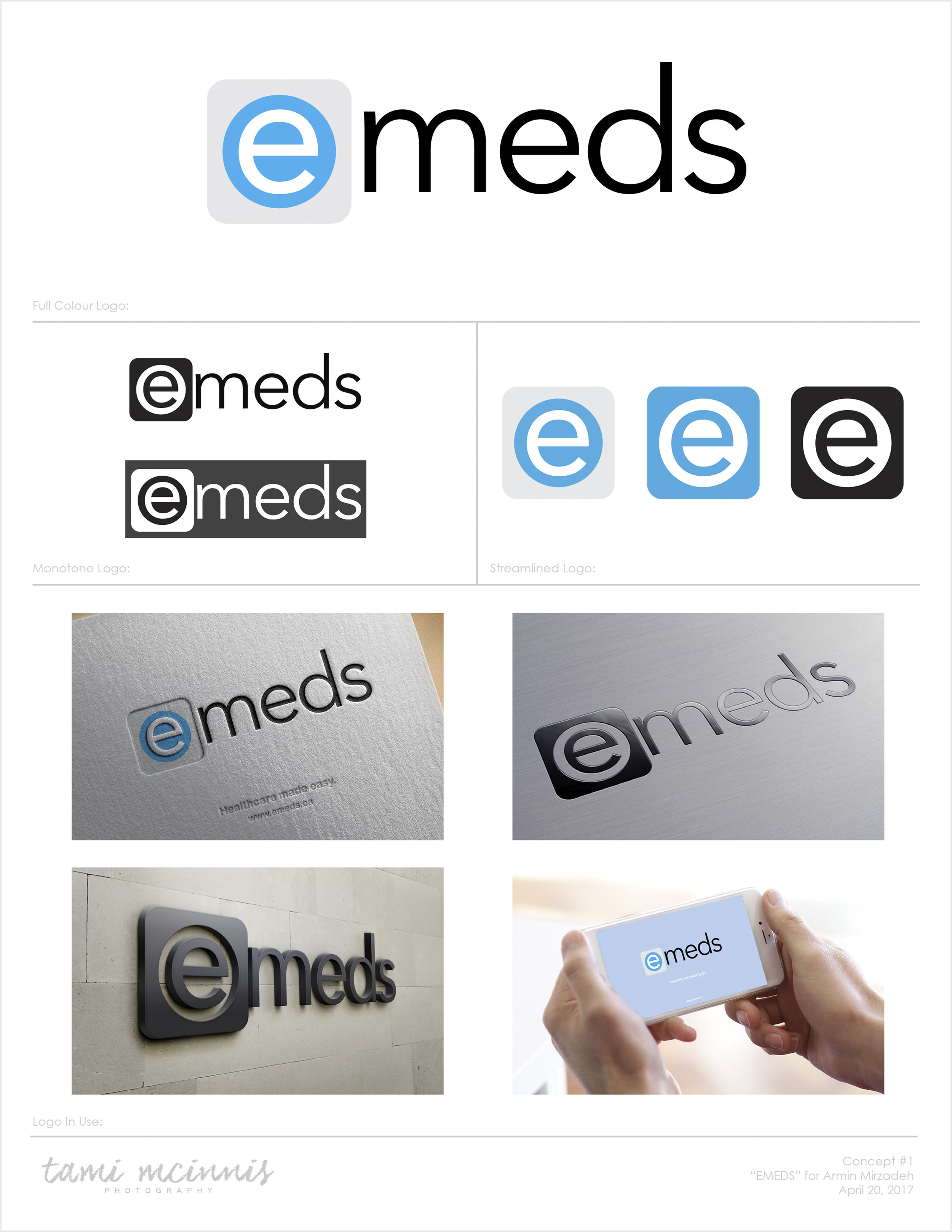 Logo Presentation (Page 1/3)
