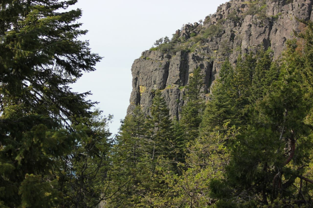 A view of spectacular Hobart Bluff in the Cascade-Siskiyou National Monument.