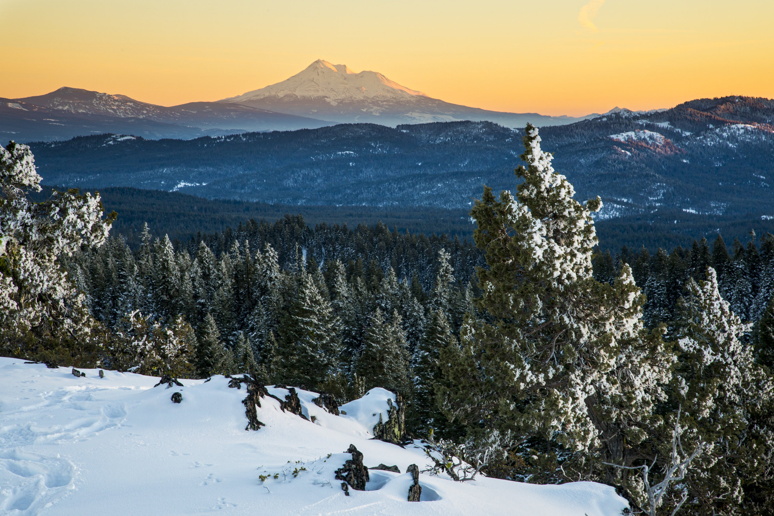 Looking towards Mt. Shasta from Cascade-Siskiyou National Monument  Photo: Bob Wick, BLM