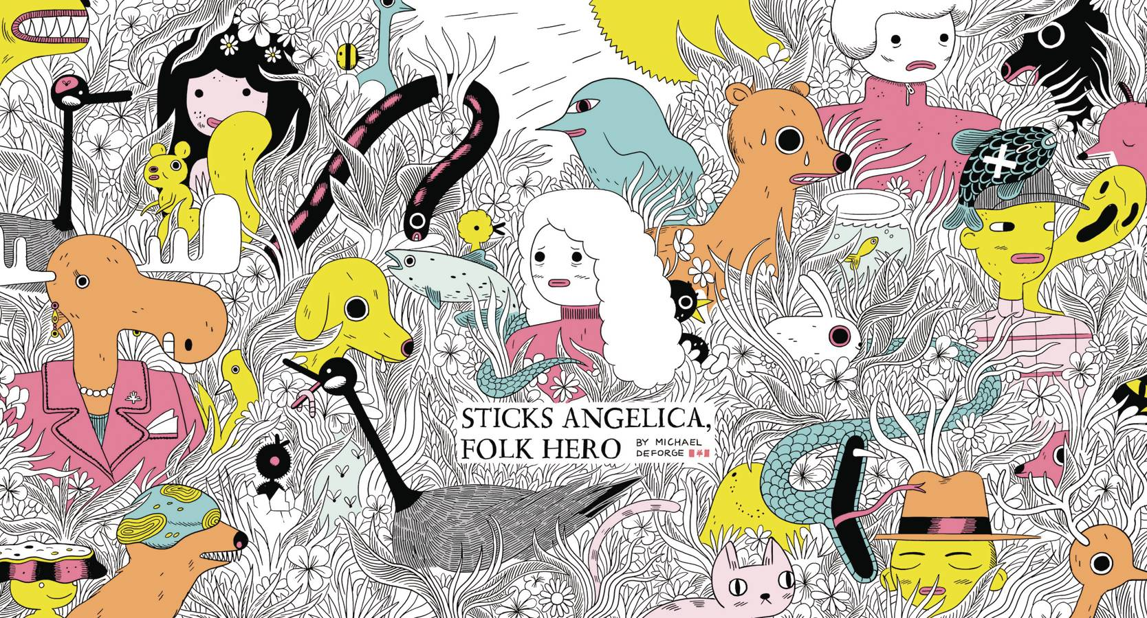 Sticks Angelica by Michael DeForge