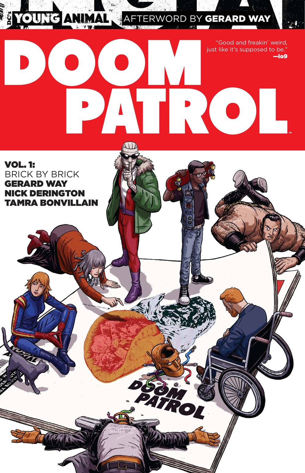 Doom Patrol: Brick by Brick by Nick Derington & Gerard Way