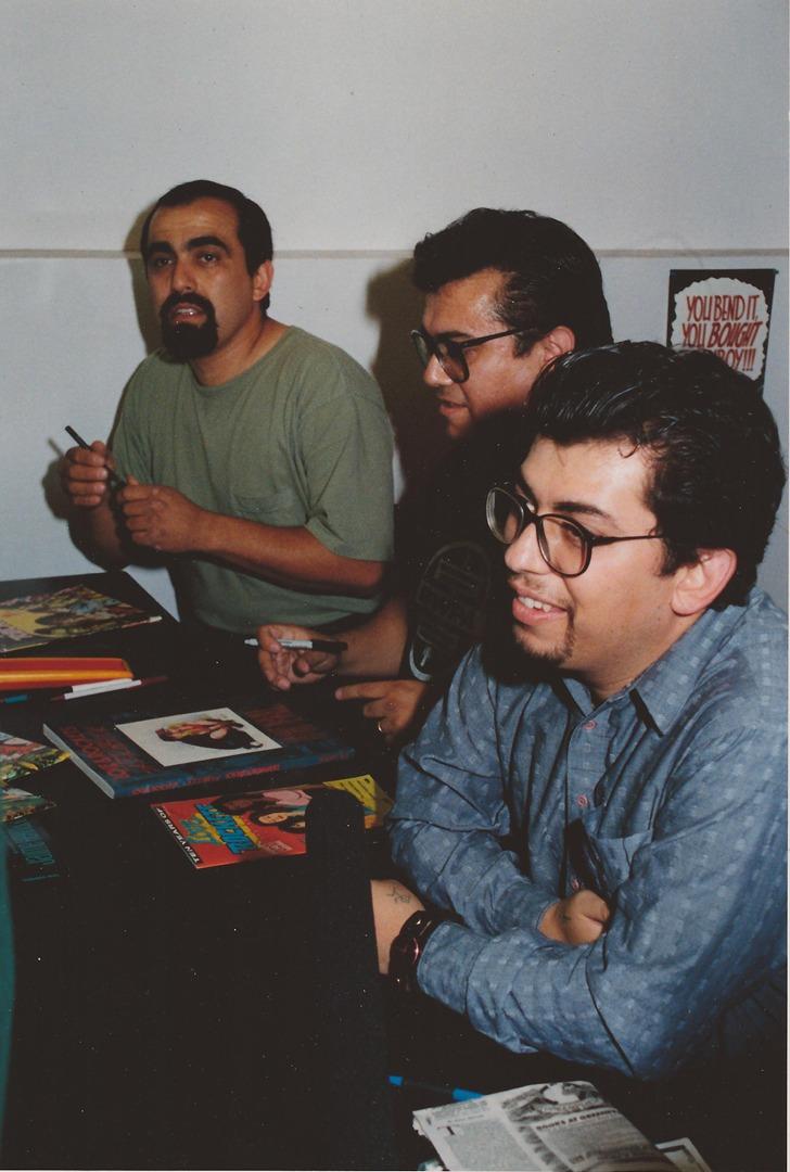 Los Brothers Hernandez Mario , Gilbert Jaime