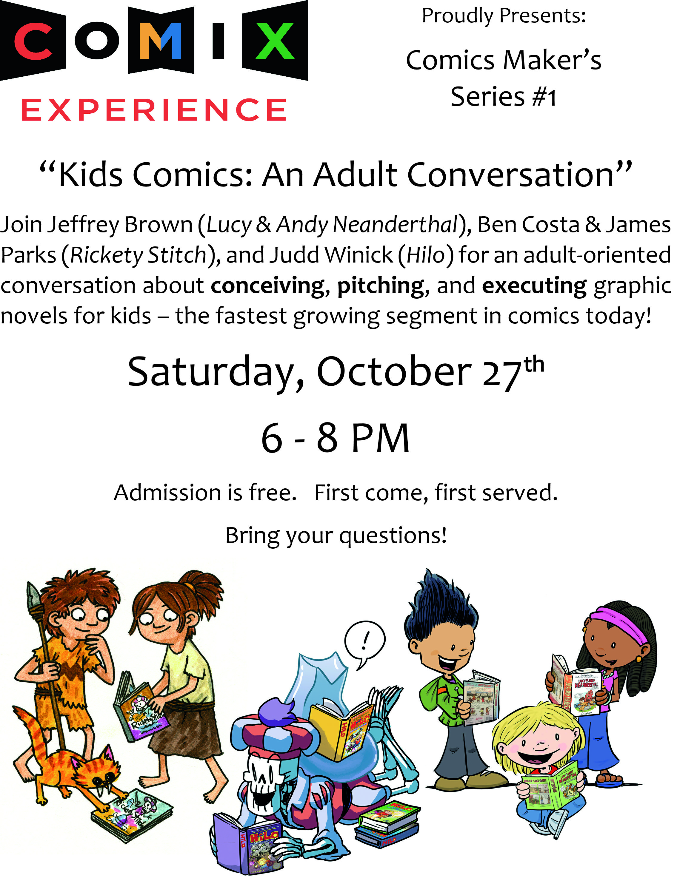 Adult Cartoon Comics kids comics: an adult conversation — comix experience