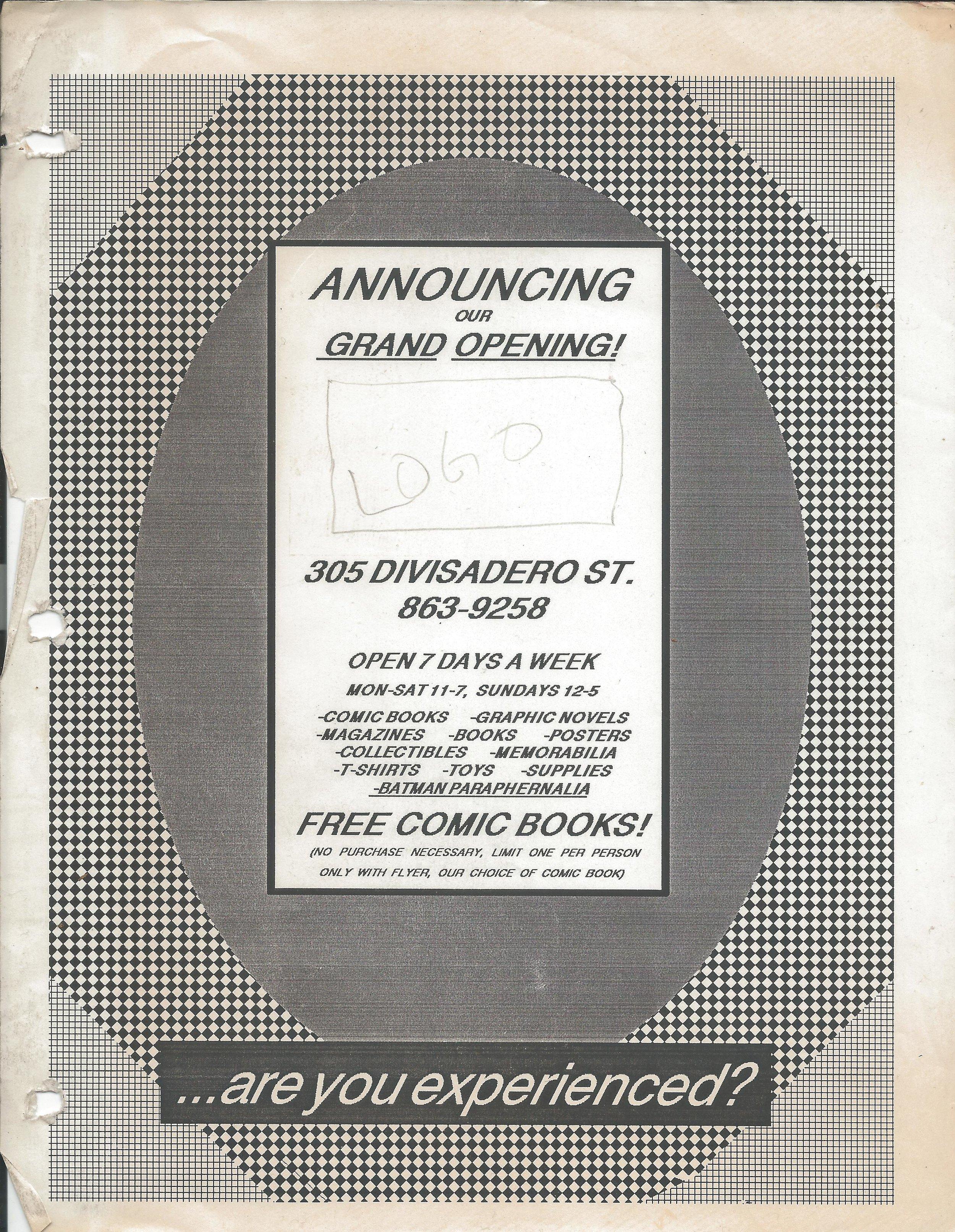 1989 0401 First Flier.jpg