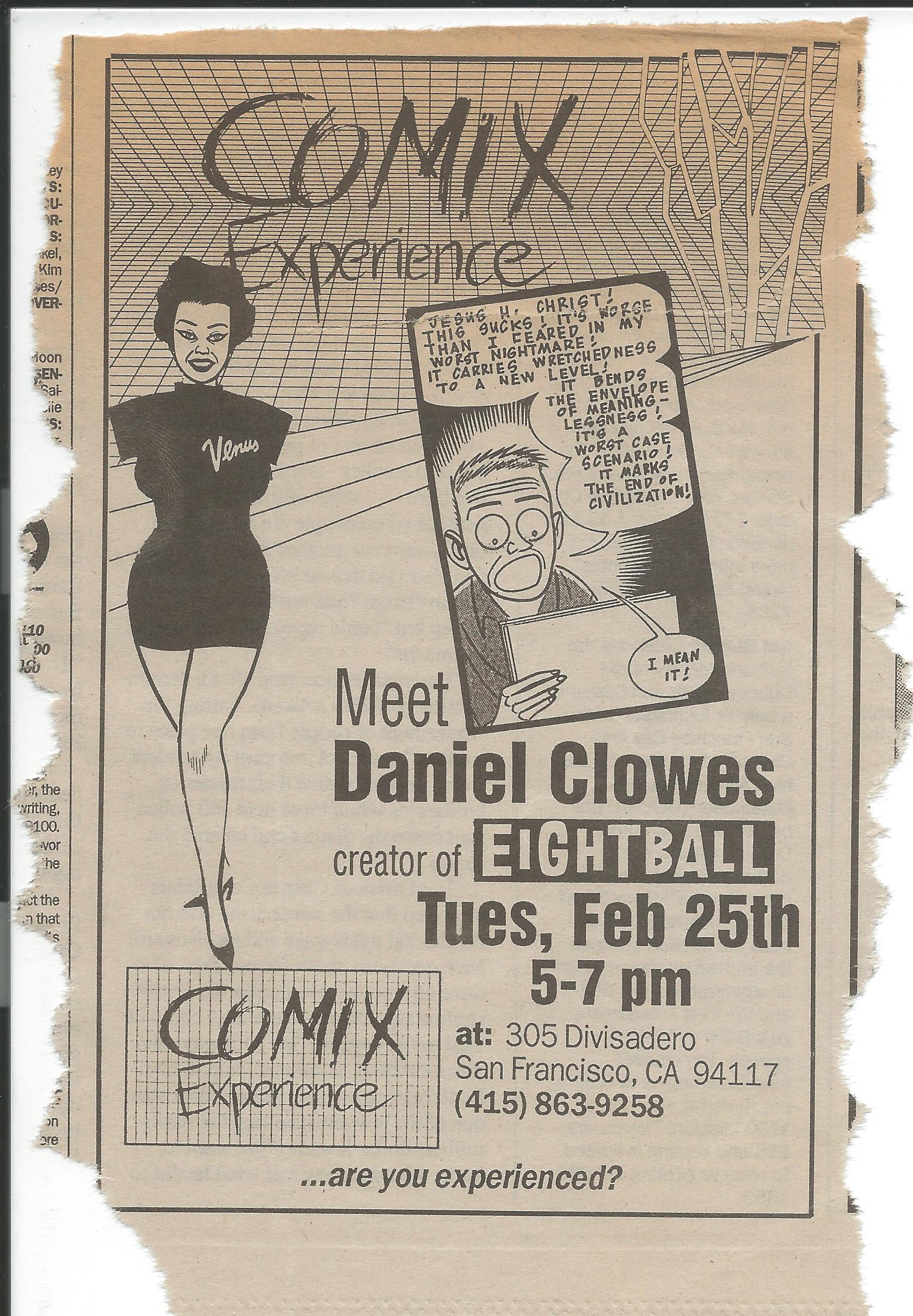 1992 0225 Dan Clowes Ad.jpg