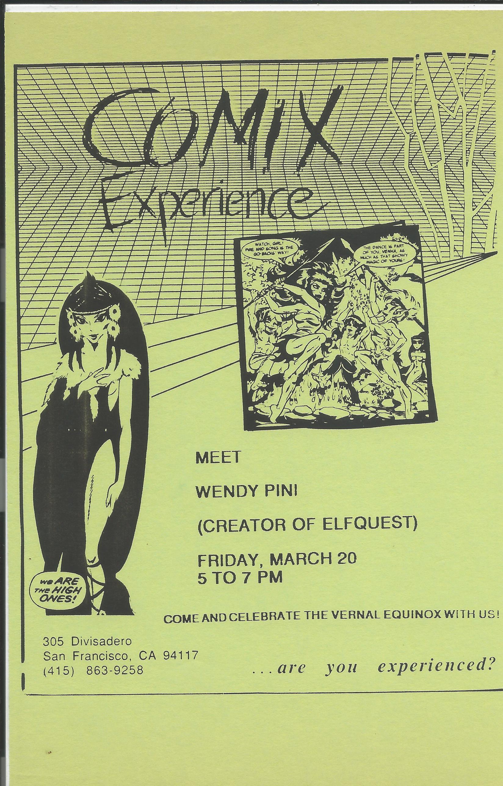 1992 0320 Wendy Pini Flier.jpg