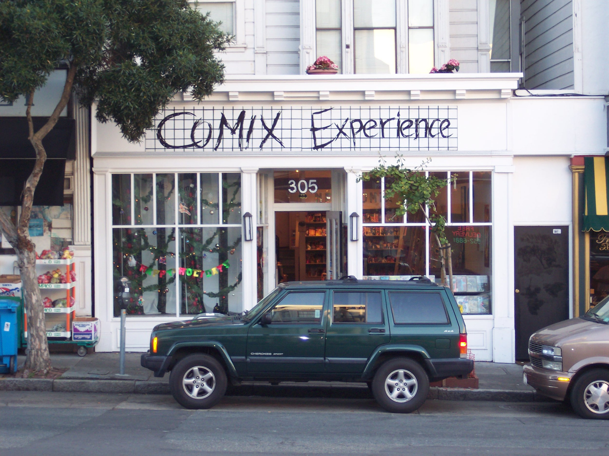 Comix Experience Outside  maybe 2000ish.JPG