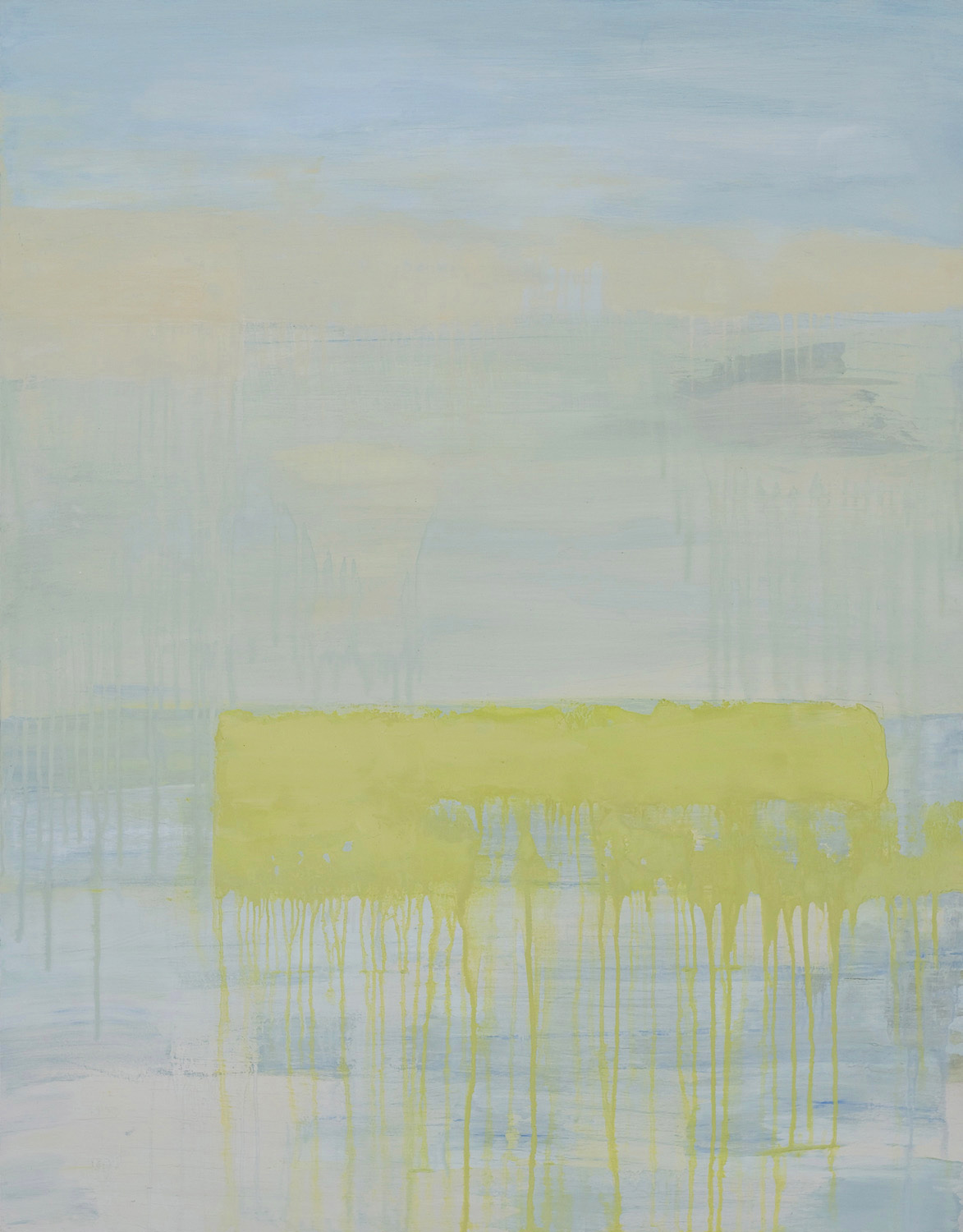 EARLY FEBRUARY • oil on wood • 38 by 30 inches • 2008