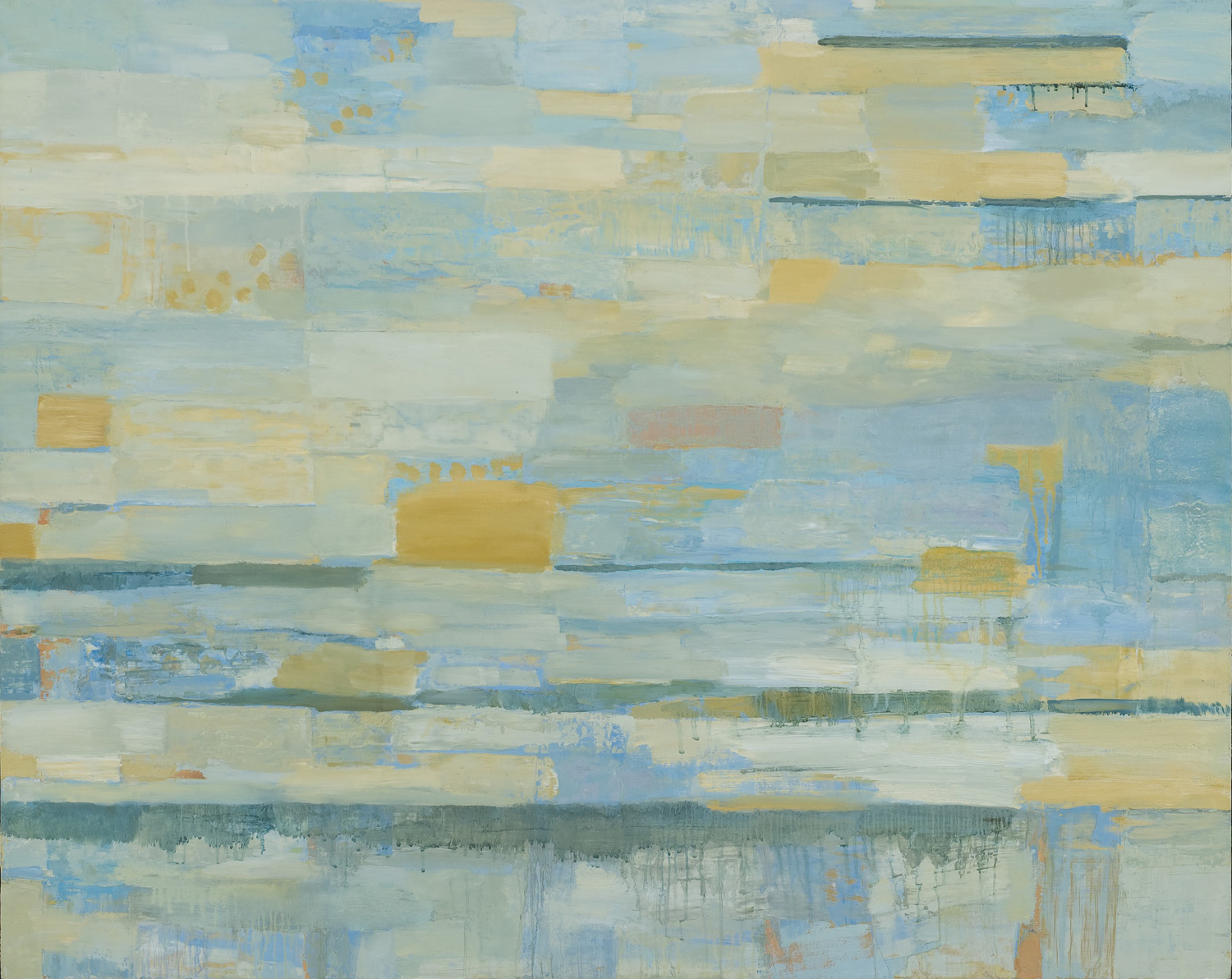 DECEMBER • oil on wood • 44 by 52 inches • 2008