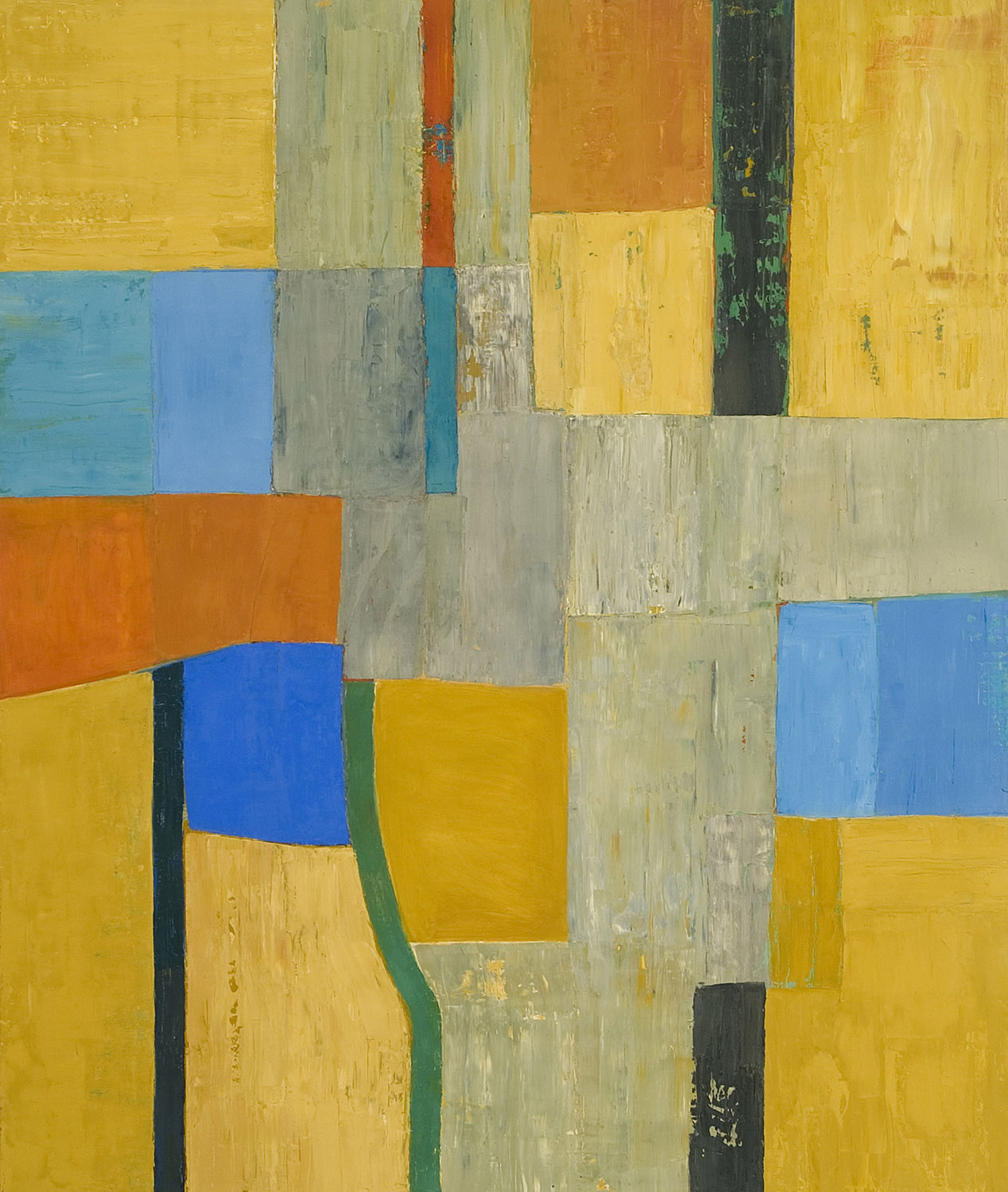FIESOLE  •  oil on wood  •  52 by 44 inches  •  2006