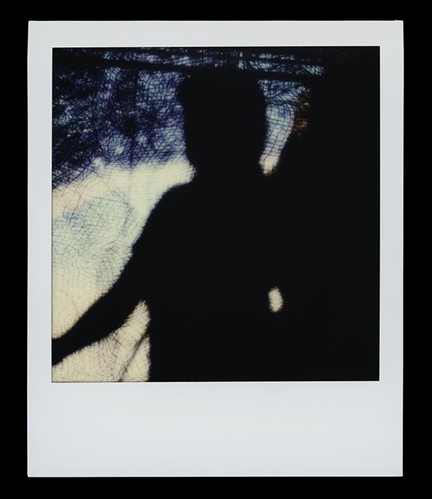 Virgo, series    Solo Exhibition    Escape Artist Studios,   SX70 Film, monoprint  Light Chamber, Type V  2019