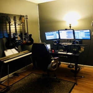 Our main control room: one of two to accommodate multiple projects.