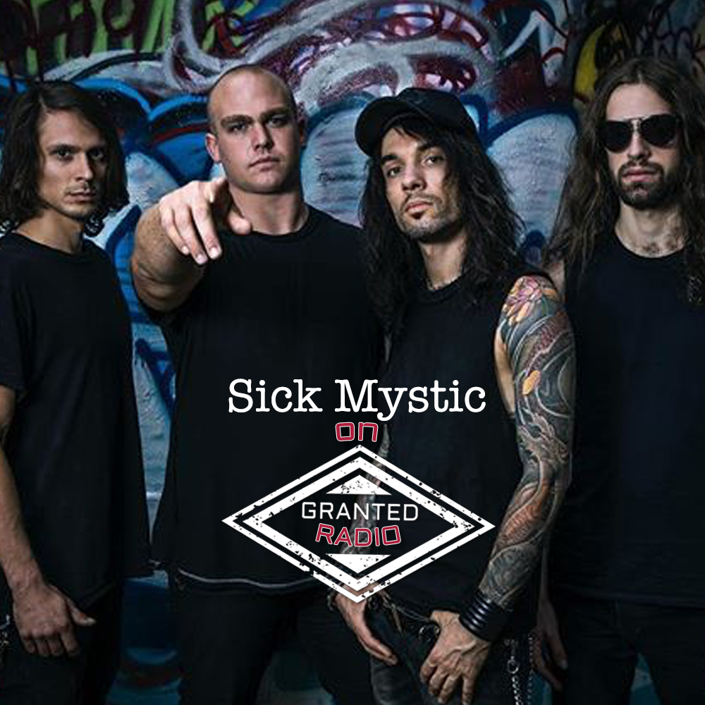 Sick Mystic - from left to right:   Robert Paul Ochoa (Bass Guitar), Ethan Jeffrey Whitaker (Frontman/Lyricist), Evgeny Prokopenko (Drummer/ Percussionist), Sam Eggenschwiler (Guitar).